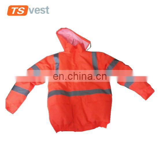 Best price waterproof safety jacket with CE