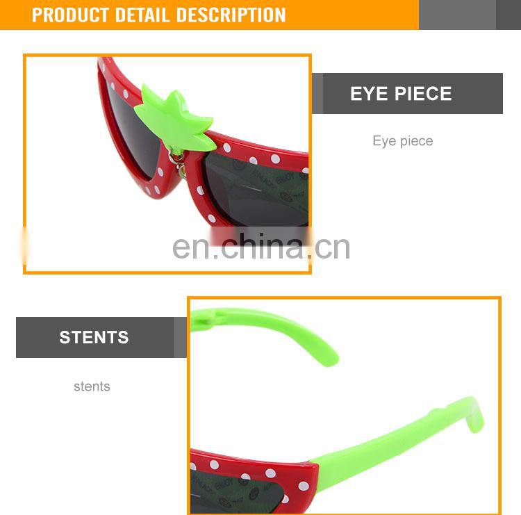 2015 fashionable promotional plastic party children glasses