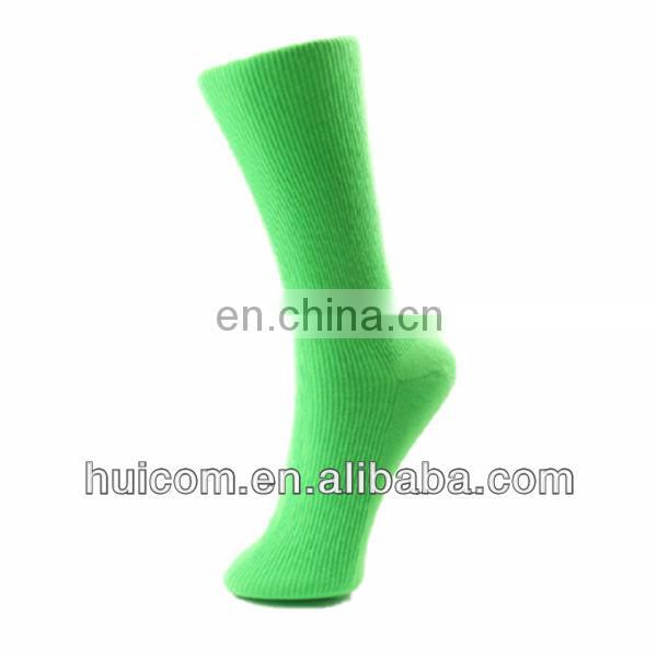 2014 Green ankle lady sock