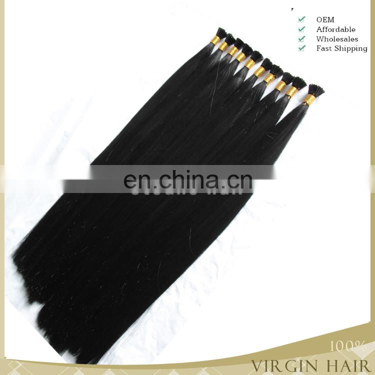 1gram blonde indian remy hair Full Cuticle Keratin Hair Extension Color 613 I Tip hair