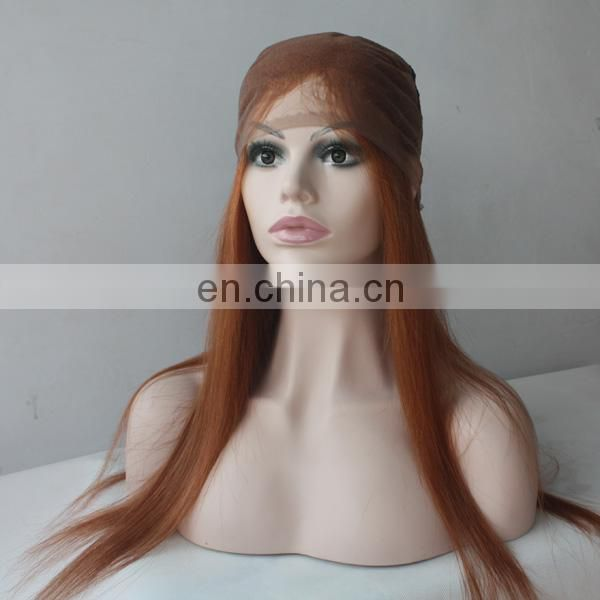 China wig factory 100% human hair wig top quality light color indian full lace wig suppliers