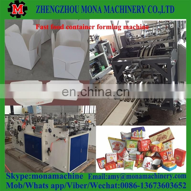 Hot sale food lunch box forming machine with best price