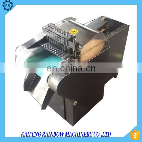 Fresh Chicken meat dicer frozen chicken meat cutting machine with low price