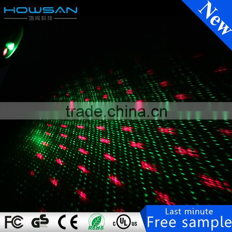 high quality double hole cheapest mini star laser light party decoration colorful pattern lights