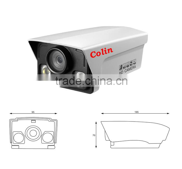 Plug and play high definition outdoor ir bullet ahd camera made in China