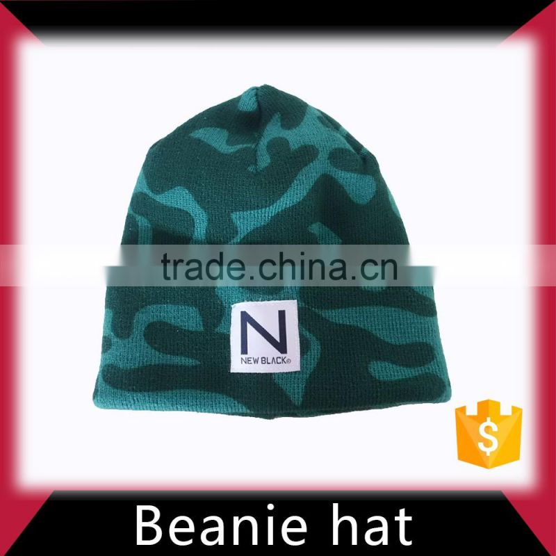 men knitted beanie caps and hats manufacturer