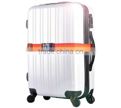 Hot selling Travel Luggage Belt with Lock/ password lock luggage belt / luggage belt digital lock