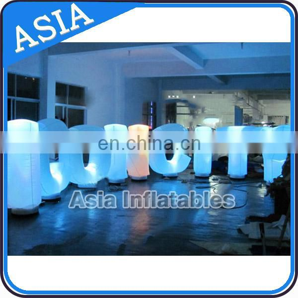 Unique Design Decorative Led Alphabet Letters / Giant inflatable Letters / Large Decorative Letters