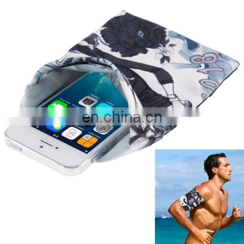 Elastic Sports Mobile Phone Armband Case for Men