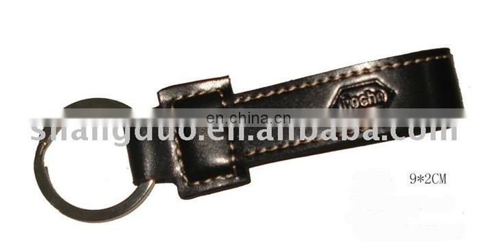 Manufacture Cheap Price High Quality Buckle Leather Key Chain