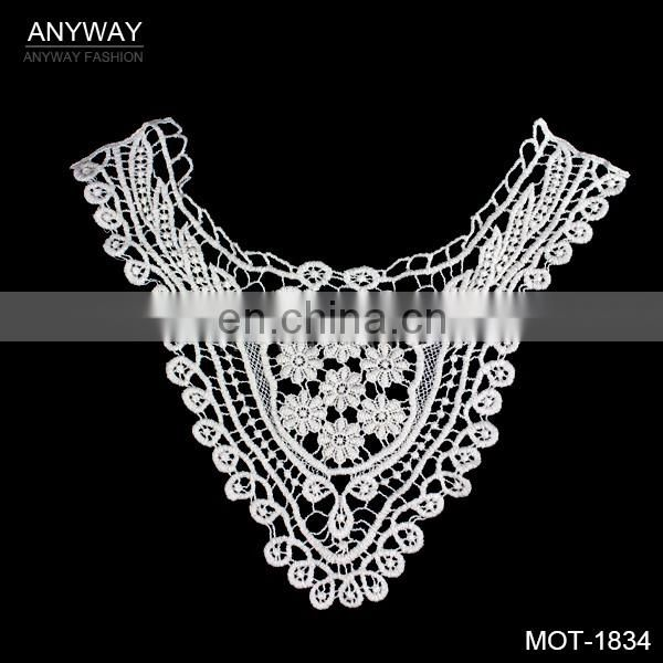 Low price sexy neck collar;new design chemical neck lace; best selling lingerie collar lace for party dress