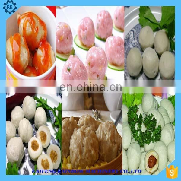 Easy to operate and time-saving energy-saving meatball making machine made in China