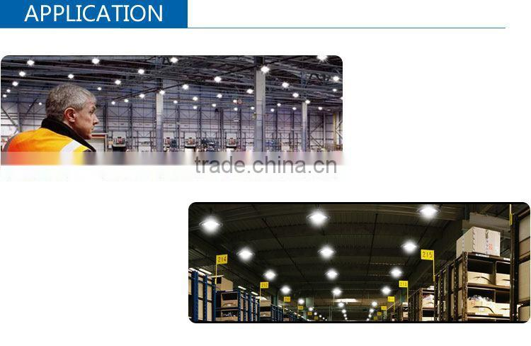lamp fixture high efficiency(lm/w)150/watt high bay ceiling ufo led area light high bay led for cul dlc saa certificated