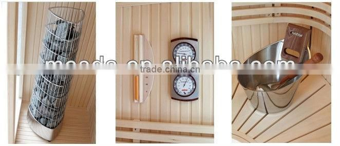 2013 New design Luxurious sauna room with cultured stone WS-1211(CE) for 5 person