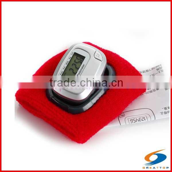 mechanical pedometer analog pedometer Wristband Pedometer With Watch pedometer watch bracelet pedometer pedometer wholesale