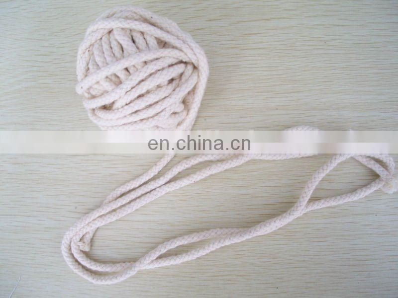 braided rope belt,cotton rope