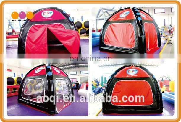 Hot sale sealed inflatable camping tent for adults
