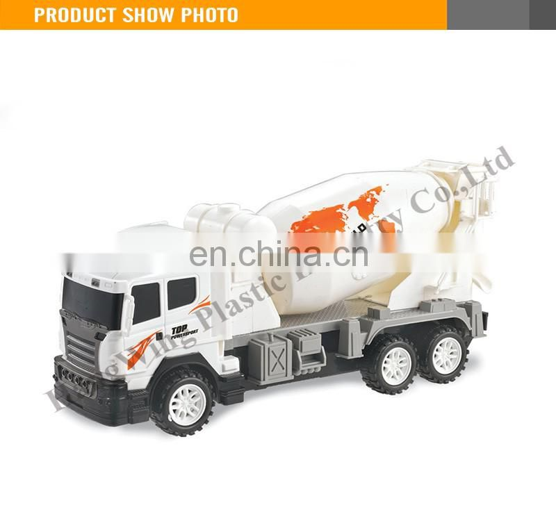 Interesting 30CM Friction Car Truck Toy concrete mixer truck toy truck custom logo
