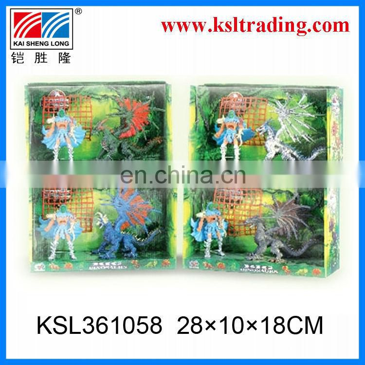 children animal plastic toy kids plastic dinosaur set