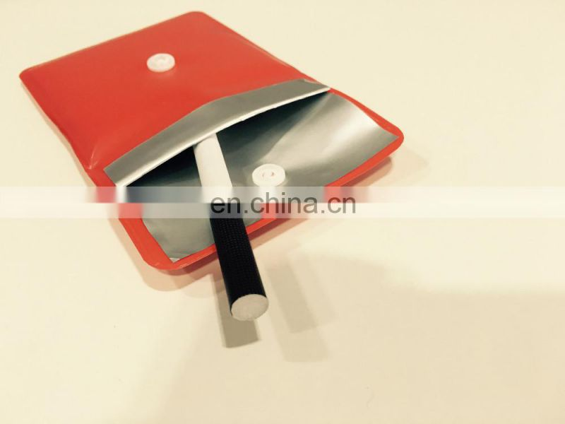 8*8cm pvc material pocket ashtray