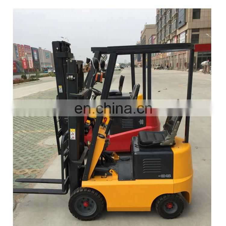 factory price 4-wheel battery operated forklift 2 ton lifting capacity forklift truck