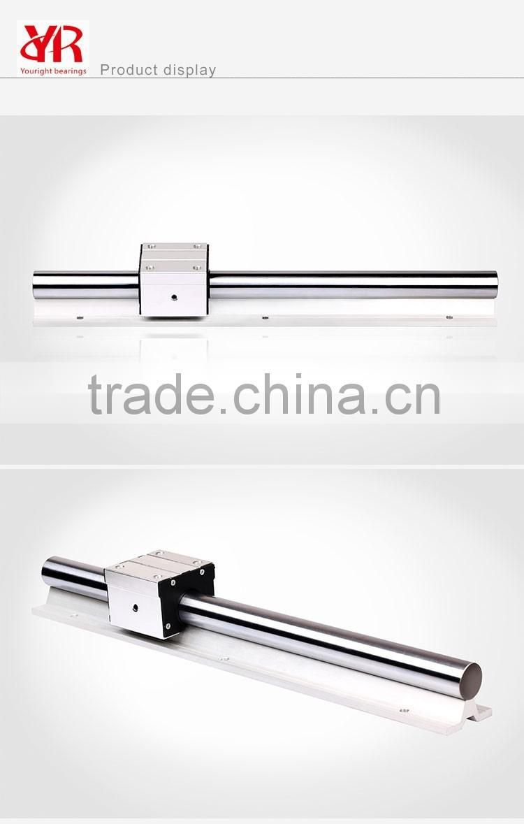 Factory Directly Sale Linear Motion Aluminum Housing Only without Linear Bearing Open Type SBR20UU