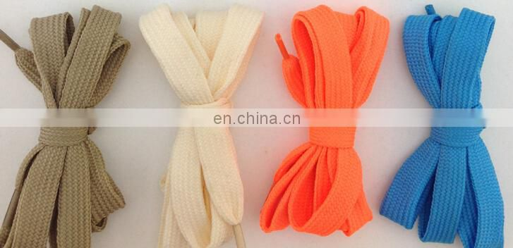 colorful shoelace for sport shoes