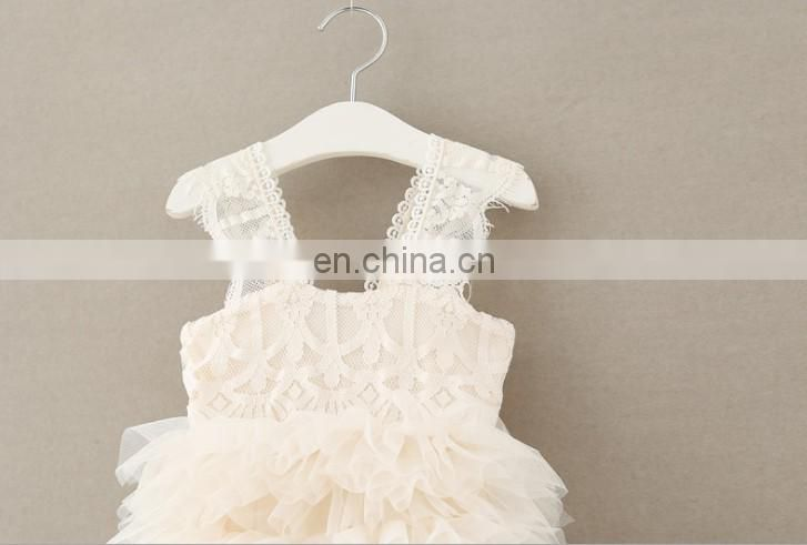 Ivory Lace Cake Smash Dress Rustic Slip Baby Baptism Dress Birthday Outfit