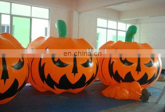 LED inflatable witch&pumpkin tree
