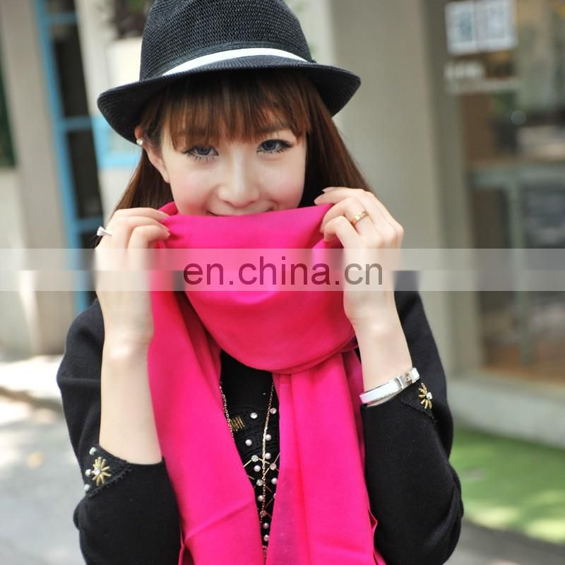 2015 winter 100% wool scarf shawl the best accessories Mei red