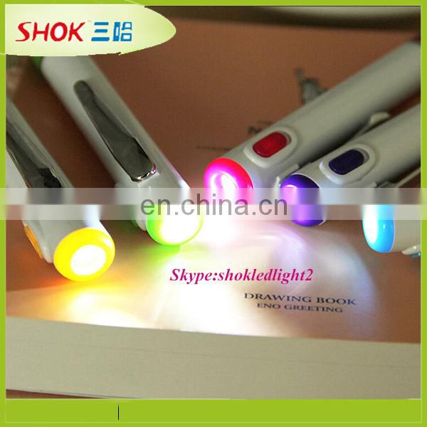2015 High quality LED projector ballpoint pen