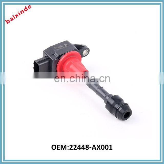 Ignition Coil AIC6207F For Nissans March 1.2 1.0 Micra K12 Note E11 1.4 CR14DE OEM 22448-AX001