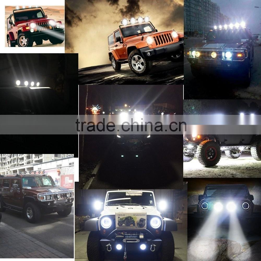 9inch LED Portable Work light 12V 185W For Offroad Truck Car ATV SUV Jeep Boat 4wd ATV Auxiliary Driving Lamp