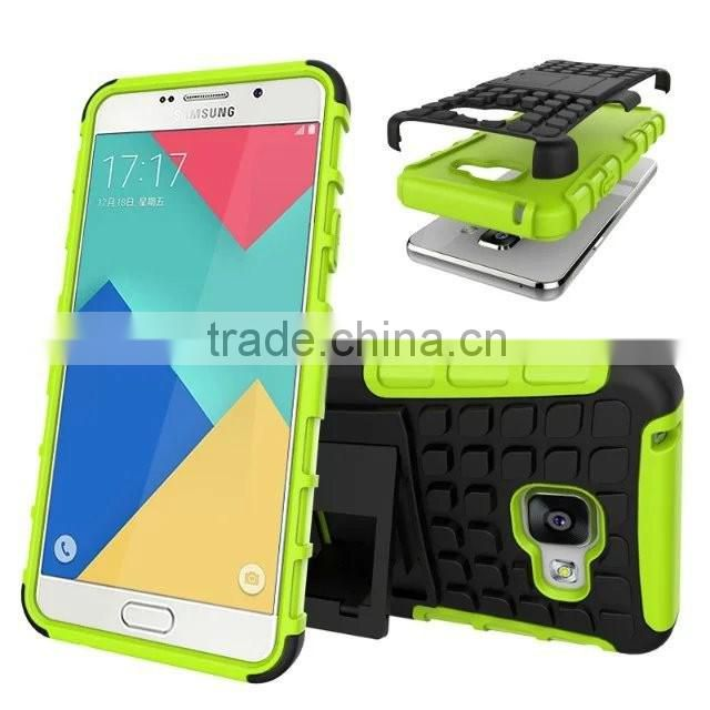 Mobile Phone Back Cover Smart Hybrid Rugged Heavy Duty Armor Kickstand Case For Sumsung A310