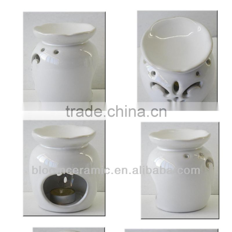 Clear beautiful oil burners wholesale