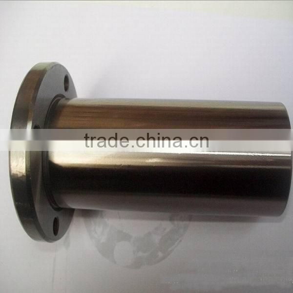 LMF13LUU 13x23x61mm Round Long Circular Flange Type Linear Bushing Bearing