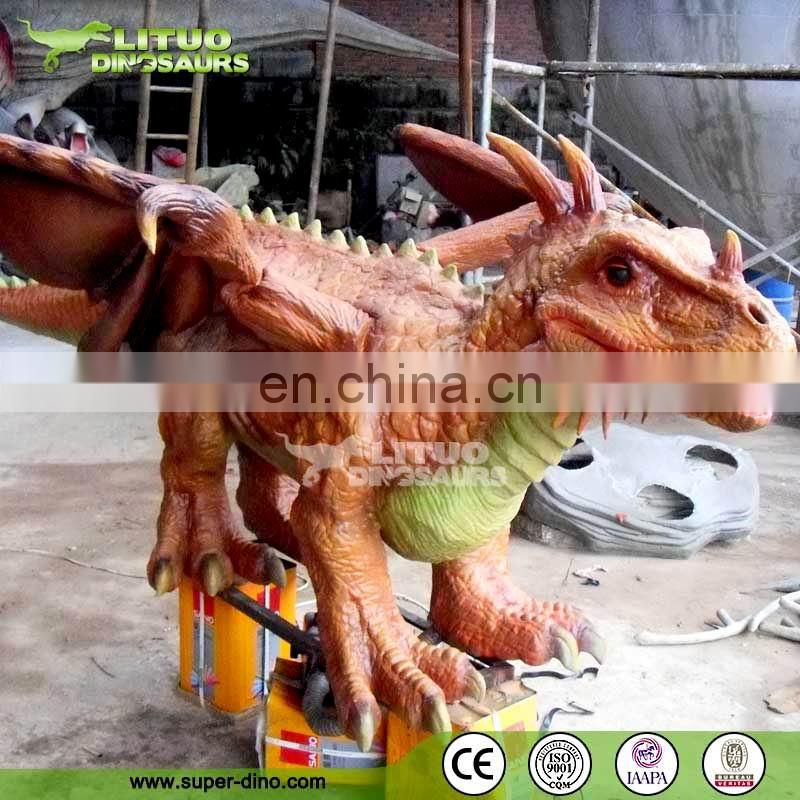 Customized Realistic Animatronic Dragon Model