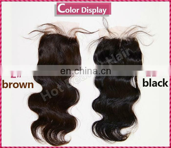 Hot Beauty High Quality Lace Frontal Closure Piece Special 5*5