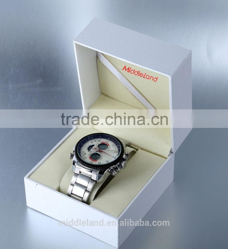 Made in china waterproof MIDDLELAND 2015 factory watches wholesale/shenzhen alloy afford factory watches wholesale
