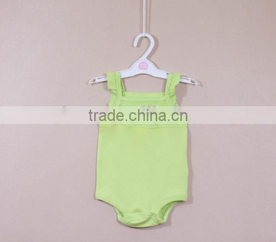 Best selling summer baby girl romper, baby cotton romper,baby layette