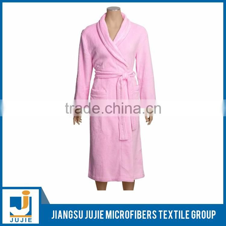 Promotional cheap price ladies long bathrobes
