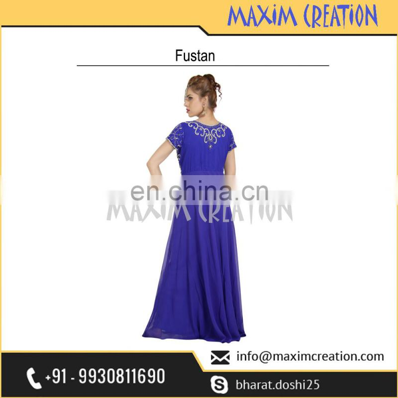 Evening Gown Night Wear Fustan Perfect For Any Traditional Occasion By Maxim Creation 6558
