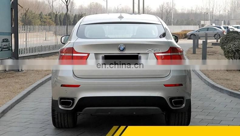 X5 tail throat modified X6 modified square tail exhaust tip