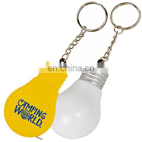 Winho light bulb tape measure keychain