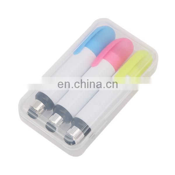 none -toxic stylus fluorescent highlighter
