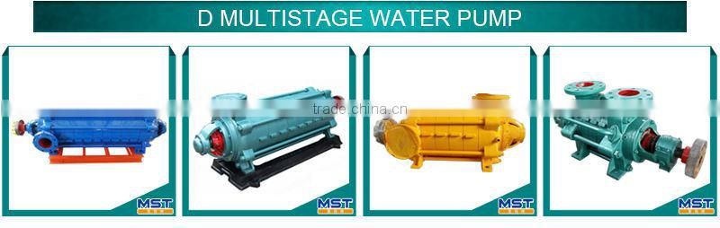 high pressure multistage pump for desalination