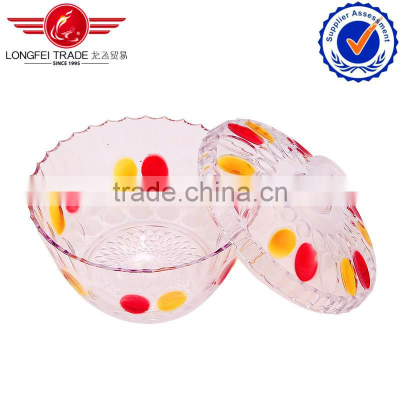 2013 best products Sweet small round glass candy box