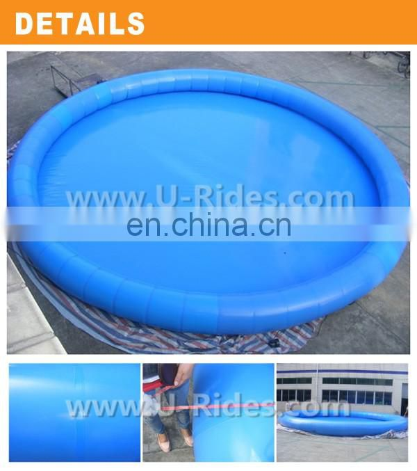For Agent giant inflatable water slide pool For Amusement park