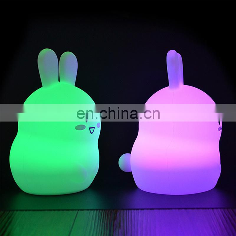 Cute animal led light fashion wholesale desk lamp for bedroom dorm living room