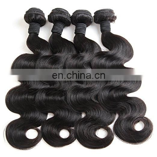 Body wave human hair extension brazilian hair